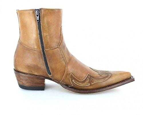 Sendra Boots 7783, Stivali western unisex adulto Beige (Olimpia 023)