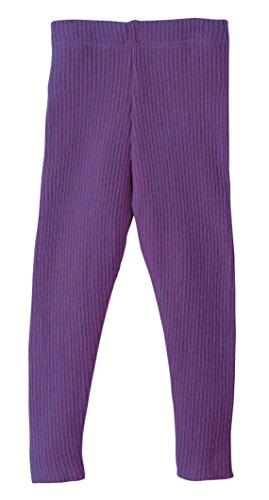 Disana 33209XX - Strick-Leggings Wolle, Pflaume, 74/80