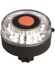 NAVISAFE Feu de navigation à LEDs - Navi Light 360° blanc avec base pour adaptateur