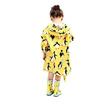 wall-8-CC Long Raincoat for Children Kids Baby Rain Coat