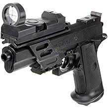Nfl airsoft pistola colt 1911 comandante, negro, 203.306