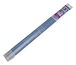 Tamiya 70207-U de Perfil 3x 3mm, 5Unidades, plástico, 400mm, Color Blanco
