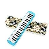 Strumento Melodica, Gli Studenti Principianti usano l'insegnamento per Suonare la Bocca a 37 Tasti per Suonare Lo Strumento del Pianoforte, è Facile Imparare 2 Colori opzionali