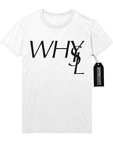 T-Shirt WHYLS Your Life Sucks H989925 Weiß