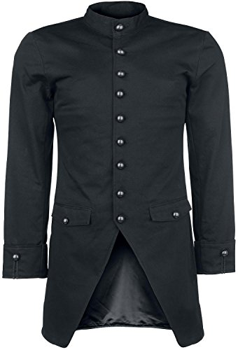 Gothicana by EMP Steam Frock Coat Giacca nero M