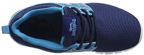 Lonsdale Sivas, Chaussures de Running Compétition Fille Bleu (bleu marine/bleu)