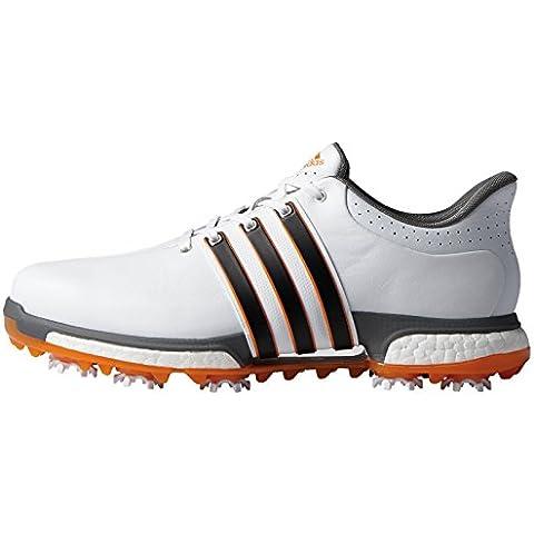 adidas Tour360 Aumento, Uomo Scarpe Da Golf - Bianco/Onix, Uomo,