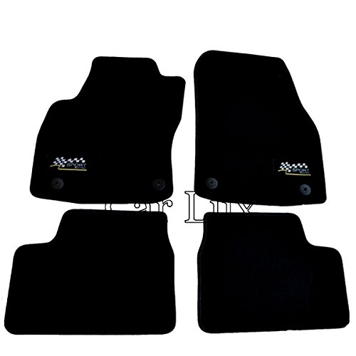 Car Lux NAR02421 - Alfombras Alfombrillas SPORT EDITION VELOUR