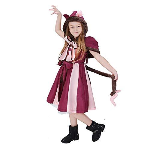 Mädchen Anzug Kostüm Fett - Parent-Child Wear Kostüm Lila Cosplay Anzug Wear Cute Halloween Cosplay Kostüm für Frauen Mädchen