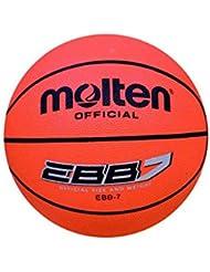 Molten EBB7 - Balón de baloncesto, color naranja, tamaño 7