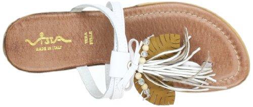 Vista 90-5205, Sandales femme Blanc (Weiss)