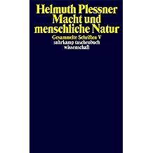 Gesammelte Schriften in zehn Bänden: V: Macht und menschliche Natur (suhrkamp taschenbuch wissenschaft)