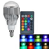 LED RGB Lampe mit Fernbedienung