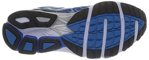 Saucony Phoenix 7, Chaussures Homme bleu-argent-vert citron