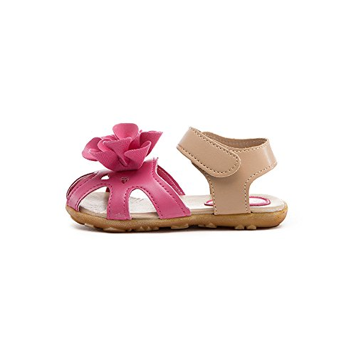 c36458e3e2ffdf ... Bescita Mädchen Schuhe kühlen Sommer Sandalen Skidproof Kleinkinder  Kinder Kind Blume Schuhe heiß rosa SLhYVz ...