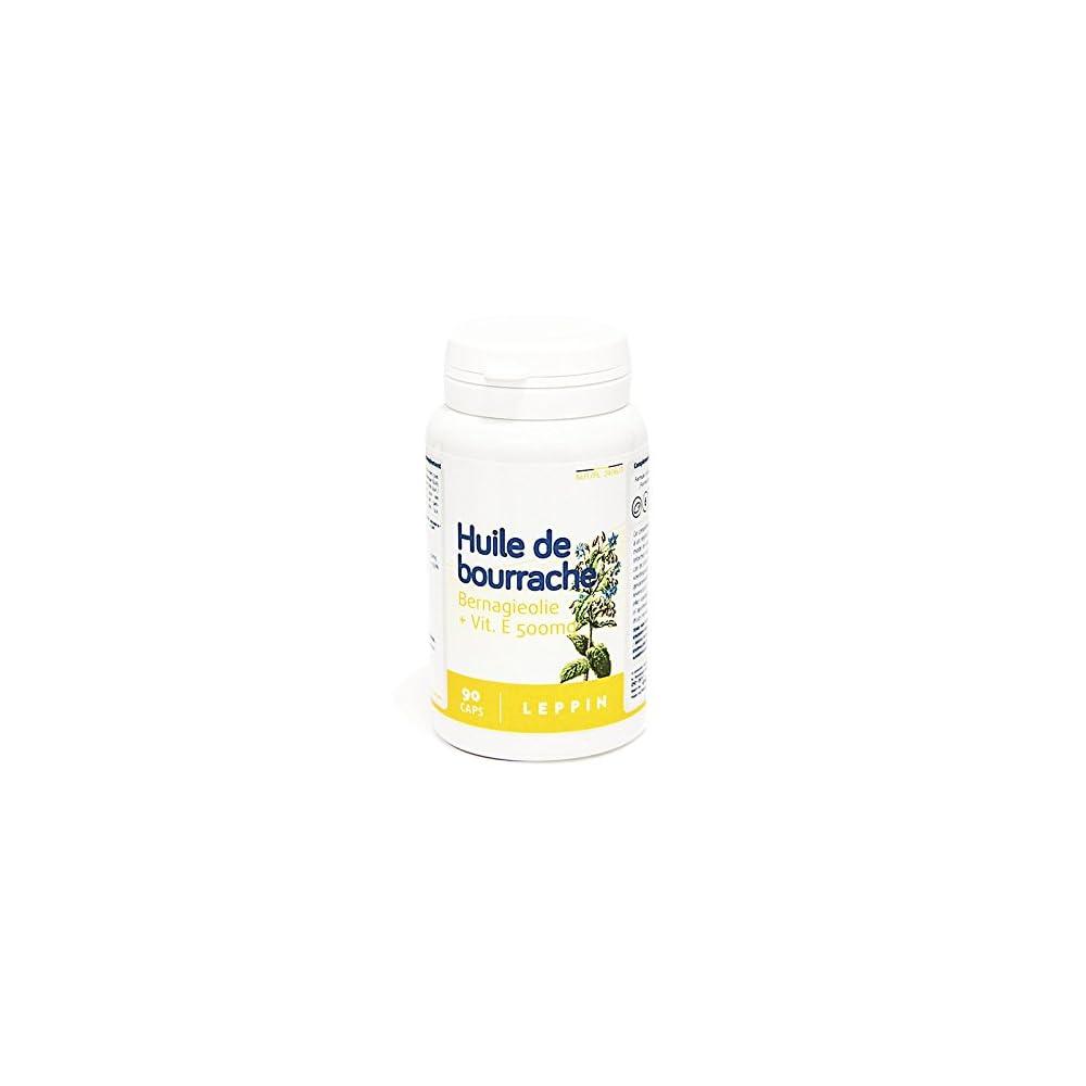 Leppin L Fr Borretsch 500 Mg Lebt E 90 Kapseln Lnge Gleichgewicht Der Haut Nahrungsergnzungsmittel Natrlichen