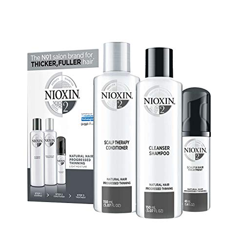 Nioxin System 2 Starter Set - für naturbelassenes Haar, 340 ml -