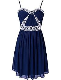 Fashion Plaza Chiffon Elgant Falten Raff-Gummizug Abendkleid Brautjungfernkleider Cocktail Party KleidW03010