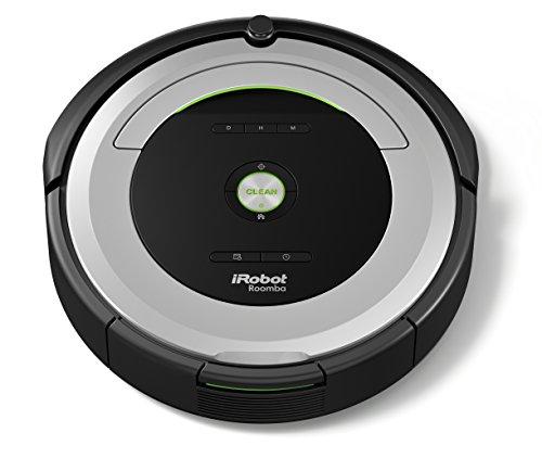 iRobot Roomba 680 Saugroboter (hohe Reinigungsleistung mit Dirt Detect, für alle Böden, geeignet bei Tierhaaren, Reinigung nach Zeitplan) grau