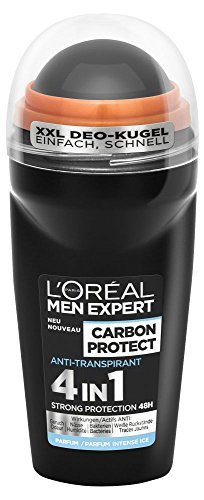 L'oreal Men Expert - Desodorante roll - on, (6 x 50 ml)