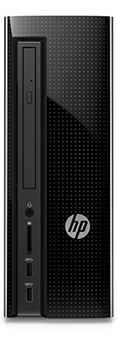HP Slimline 260-p179ng Desktop-PC (Intel Core i5-6400T, 8GB RAM, 1TB HDD, Windows 10 Home 64) schwarz (Hp Tower Pc Wlan)