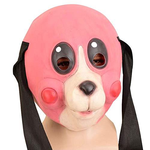 ür Erwachsene The Umbrella Academy Haselnuss Cha-Cha Maske Halloween Karneval Cosplay Helm Kopfbedeckung Kostüm Zubehör Für Halloween Party Dekoration ()