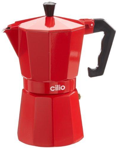 cilio-321203-stove-top-espresso-maker-aluminium-6-cup-red-by-cilio
