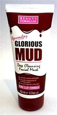 GLORIOUS MUD DEEP CLEANSING FACIAL MASK 100ml by Beauty formulas