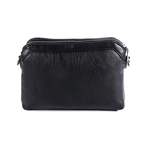 Handtaschen Wilde Schultertasche Diagonale Paket Freizeit Mode Einfache Eleganz Extravaganz Black