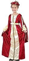 Super Fresco costume principessa con abito, testiera e cintura. Ideale per ragazza disponibile nelle taglie 122-.Le scarpe non sono incluse.