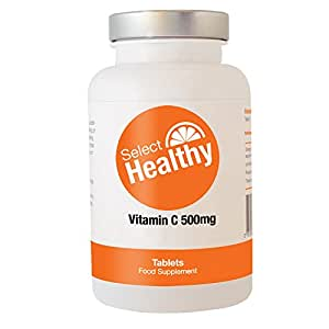 Select Healthy Vitamin C 500mg - 360 tablets - UK Sourced Free UK Delivery
