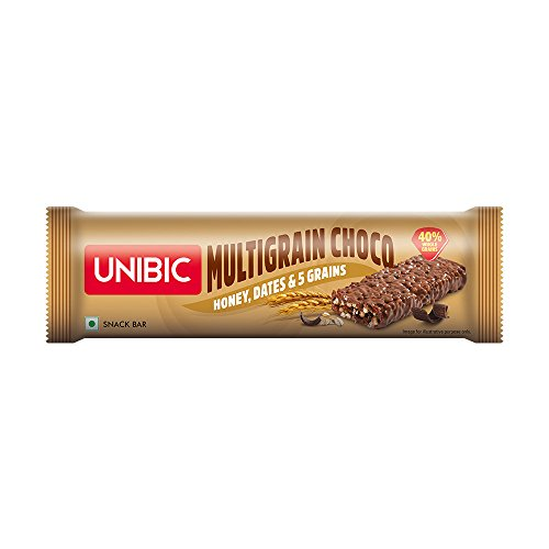 Unibic Snack Bar Multigrain Choco 360g Pack of 12, 360g
