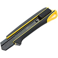 Tajima Cutter 25mm, hoja extra duras Guía y razar Black Hoja con botón, mango de 2K, 1pieza, Taj de 11685