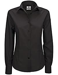 B&C Smart Poplin Damen Bluse, Langarm