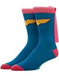 Crew Sock - DC Comics - Wonder Woman Pink Cape Socks New cr1tdxdco