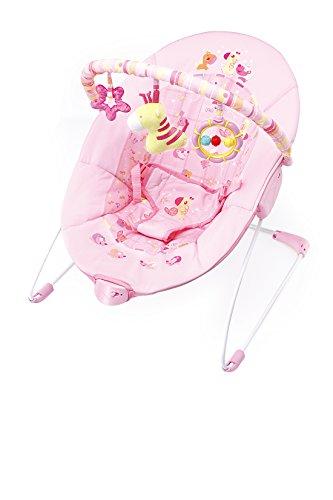 Cute Baby – Pink Giraffe – Vibration Bouncer(6787) 41TIgWXerKL