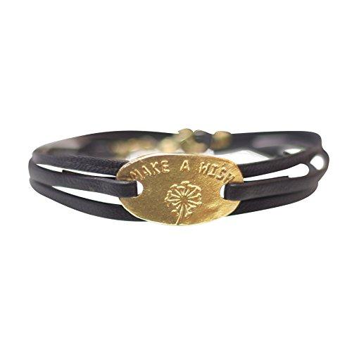 A Beautiful Story Lovely Gold Bracelet - Gold Nepal Armbänder