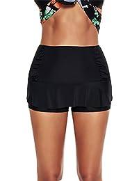 aac5d2f41 Amazon.es  ropa de baño mujer 2018 - 3XL   Shorts y bermudas   Ropa ...