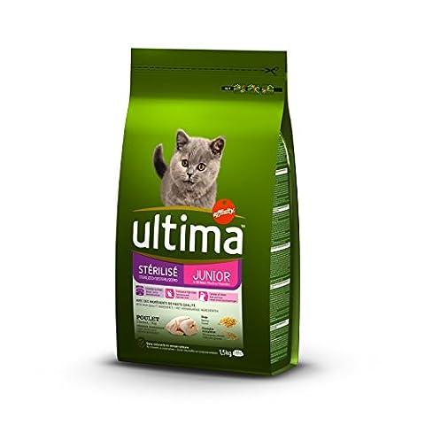 ULTIMA Nature Croquettes - Pour chat junior stérilisé - (x8)