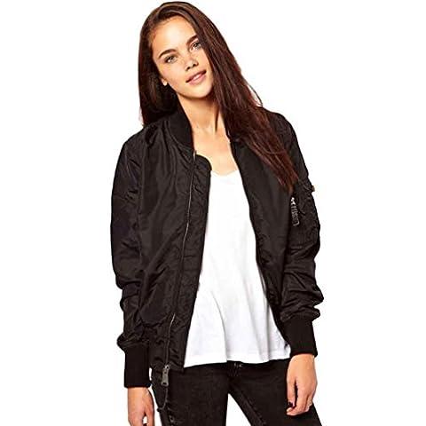 veste blouson jacket bomber femme - zip -slim - 2016