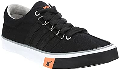 Sparx Men's Black Sneakers - 6 UK (SM-162)