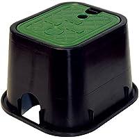 Aqua control M115717 C1900 - Arqueta cuadrada para 1 electrovalvula,  21 x 17 5 x 18 cm