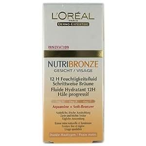 L'Oreal Nutribronze Visage Fluide Hydratant (peaux mates)