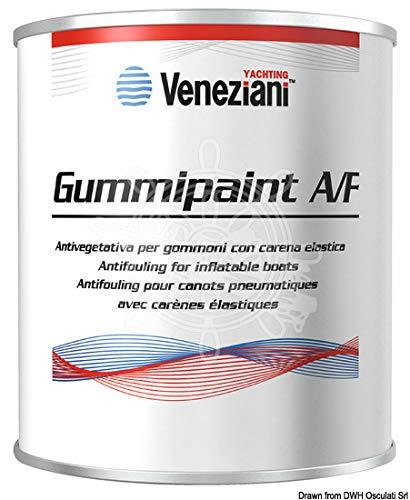 Veneziani Gummipaint Antifouling für Schlauchboote - weiß, 375ml