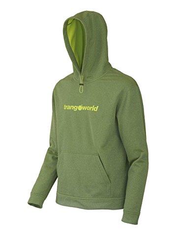 Trangoworld Herren Wislok Swearshirt Grün - 420 - Verde Lima