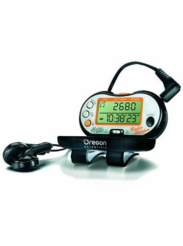 Oregon Scientific PE 316 - Radio estéreo FM podómetro