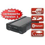 XCarLink 2 USB SD AUX MP3 Wechsler KFZ Auto Radio Music Interface Adapter für VW (Quadlock / 12-Pin)