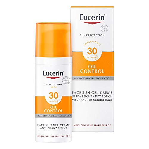 Eucerin Oil Control Face Sun Gel-Creme LSF 30, 50 ml Creme-Gel
