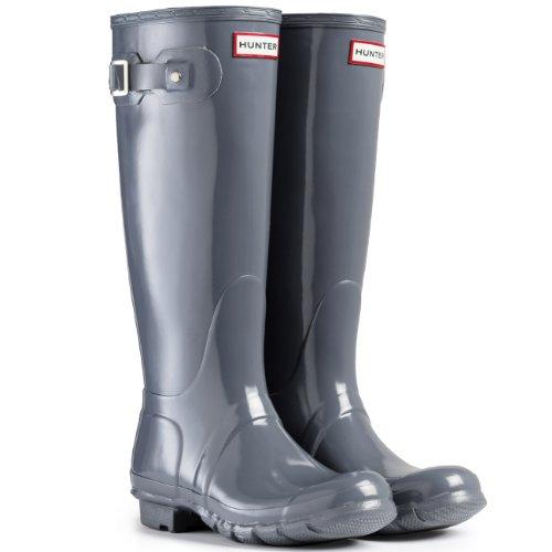 Hunter Boots Original Tall Gloss - Neve Stivali Pioggia Acqua Stivali Delle Donne Unisex