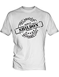 Made In Shildon - Mens T-Shirt T Shirt Tee Top